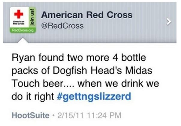 Red Cross Social Media Disaster