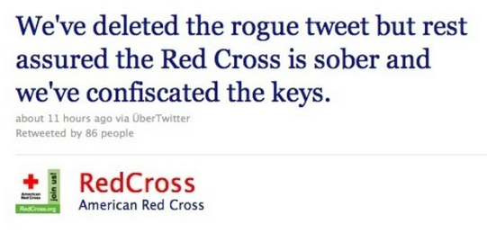 Red Cross Social Media Disaster