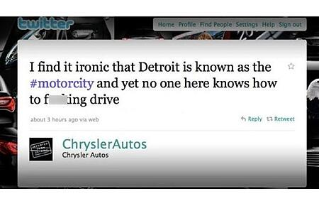 chrysler tweet fail