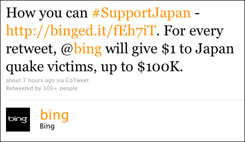 bing tweet fail