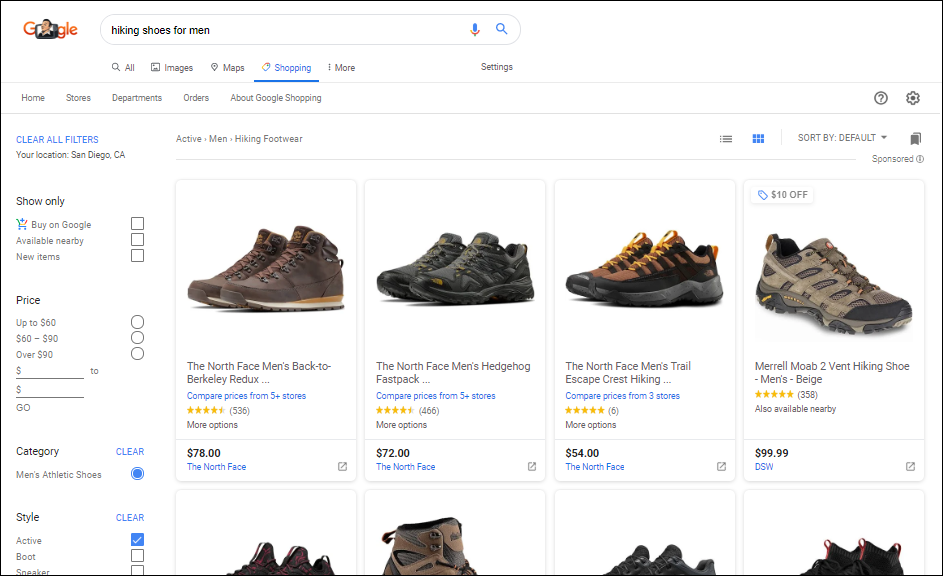Google-shopping-example