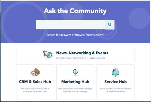 HubSpot community-png