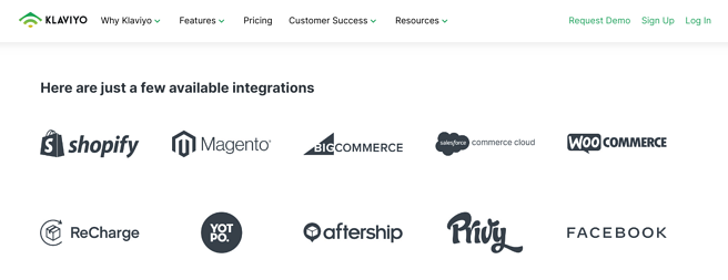 Klaviyo Integrations