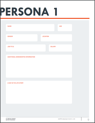 Persona Workbook Page Example
