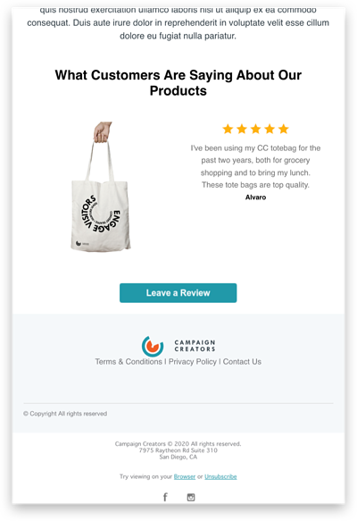 customer review template-3