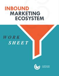 Inbound Marketing Ecosystem Worksheet Cover