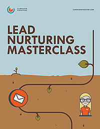 Lead Nurturing Masterclass Print Copy