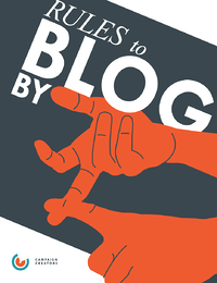 Rules to Blog By Cover