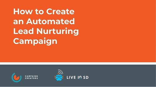 Image of How to Create an Automated Lead Nurturing Campaign Cover