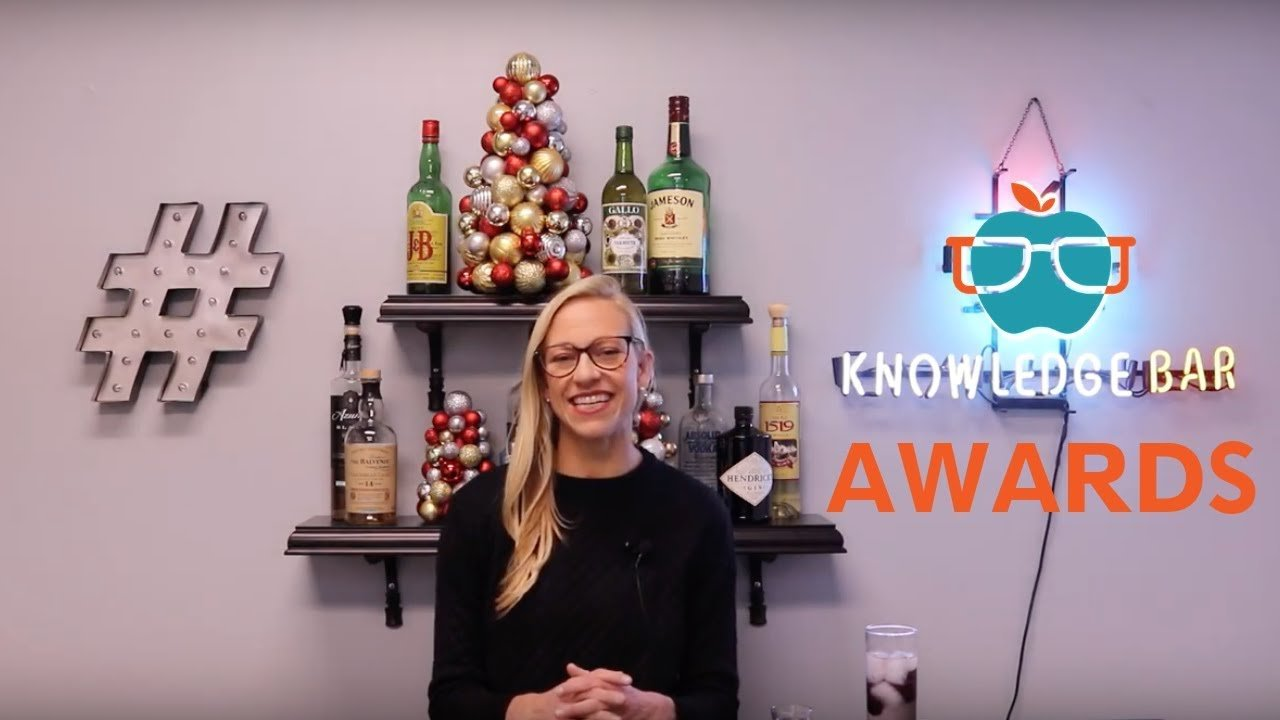 Awards knowledge bar