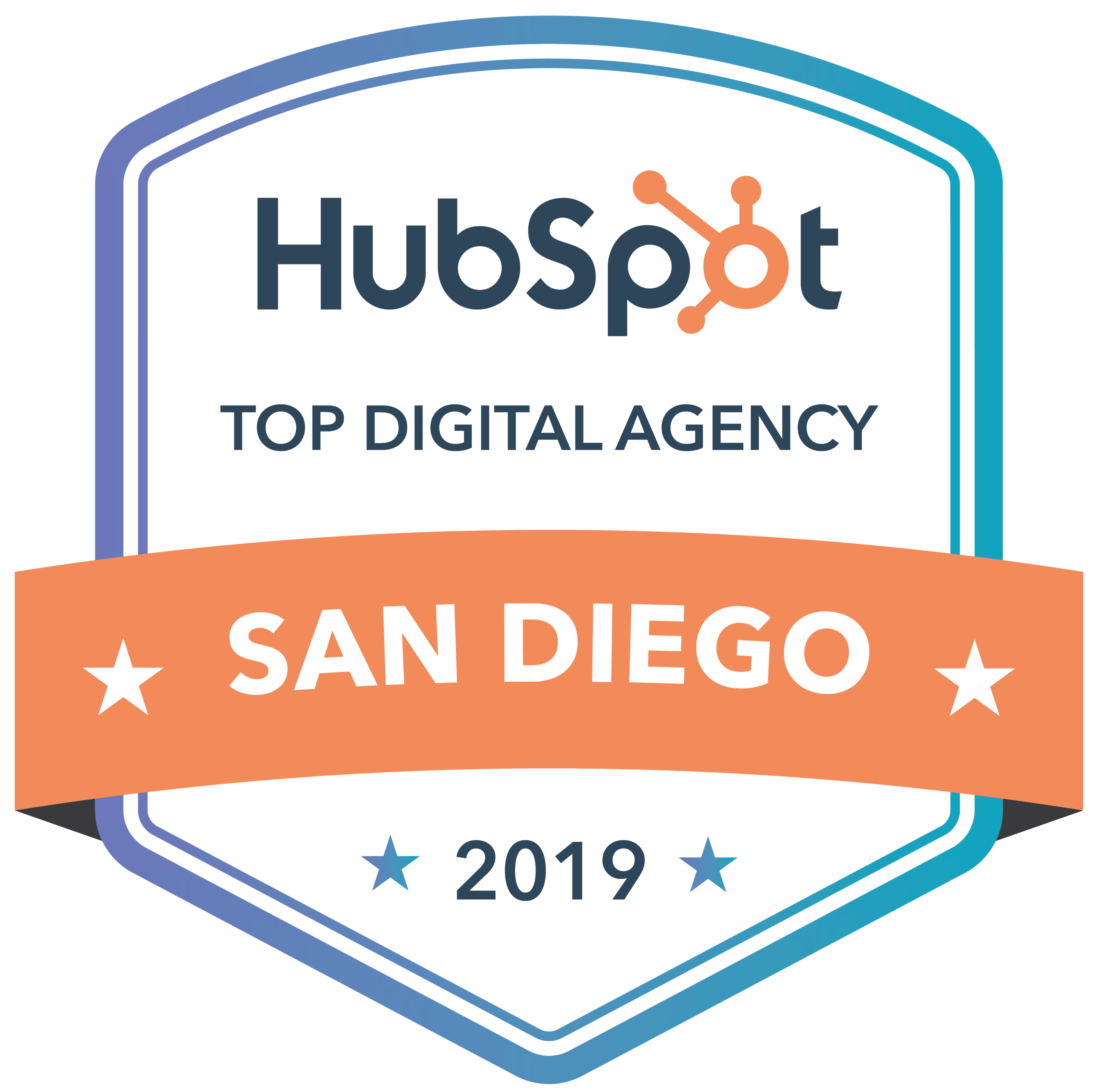 San Diego City HubSpot Agency Badge