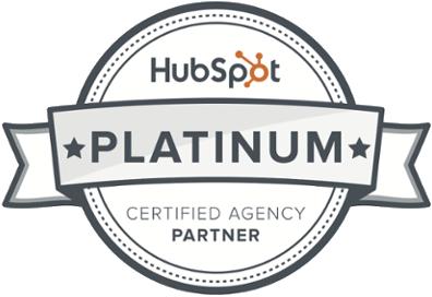 HubSpot Platinum Partner Agency Badge