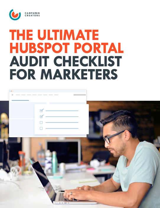 The Ultimate HubSpot Portal Audit Checklist Cover
