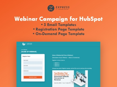 webinar campaign for hubspot