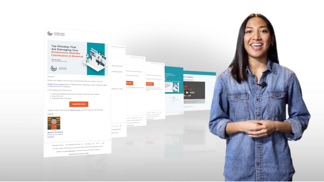 Webinar Campaign Product Thumbnail