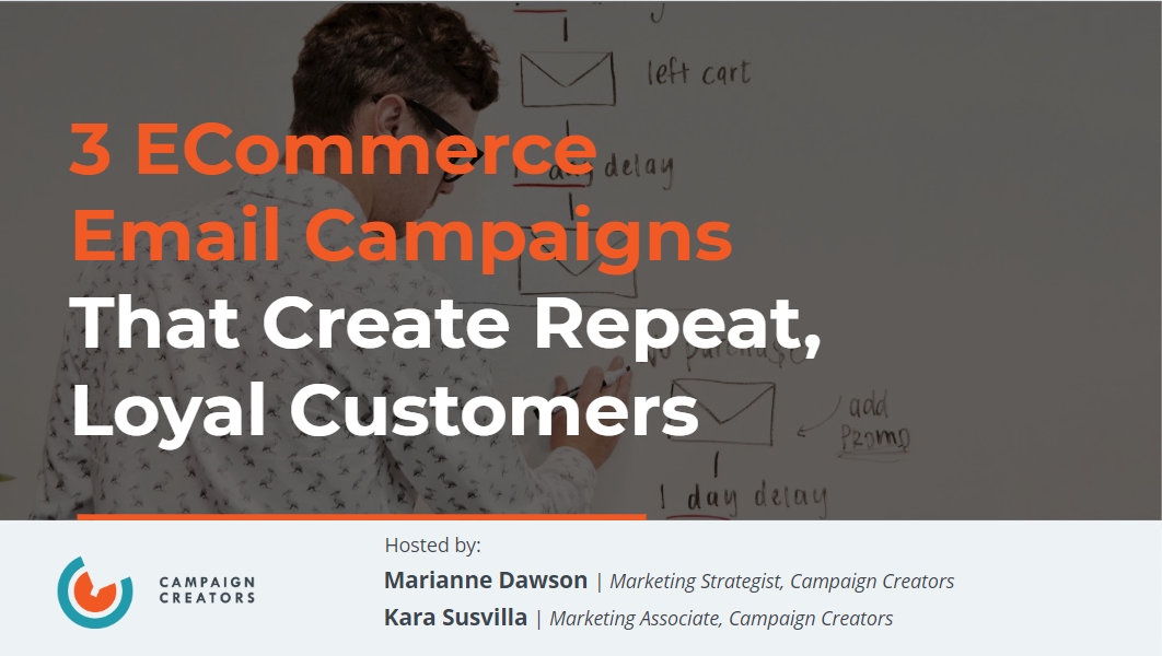 3 ECommerce Email Campaigns Cover