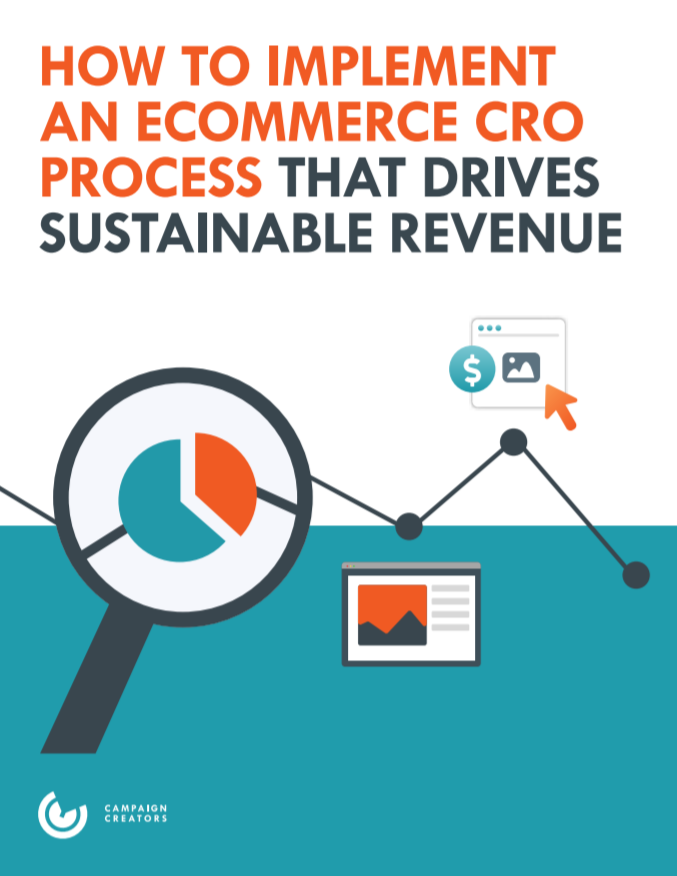 ECommerce CRO Guide Cover
