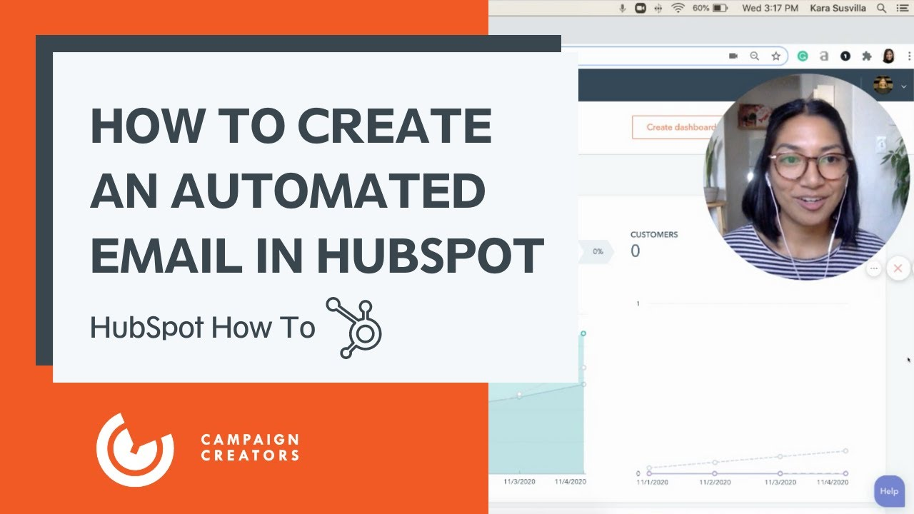 How to create an automated email in hubspot thumbnail