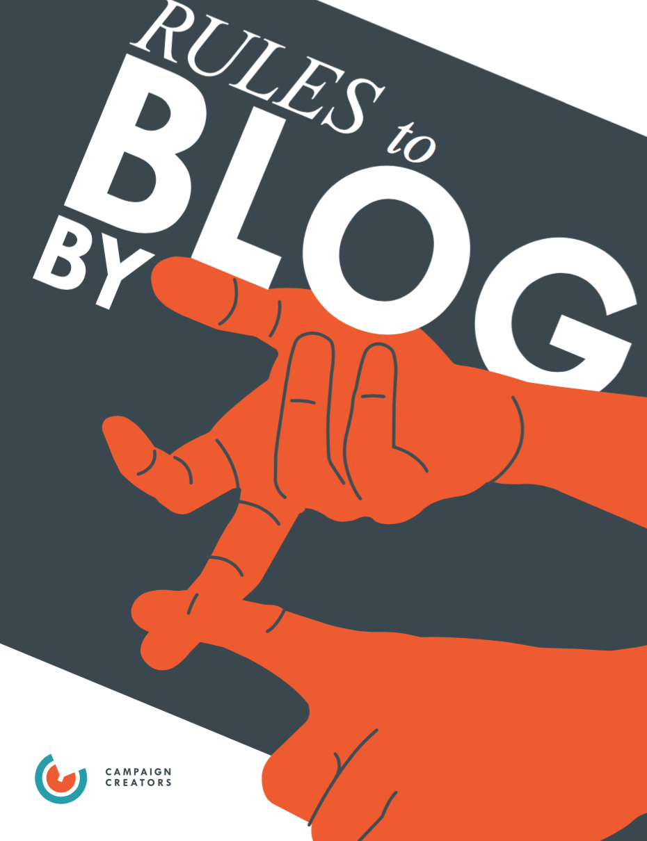 Rules to Blog by [Checklist]