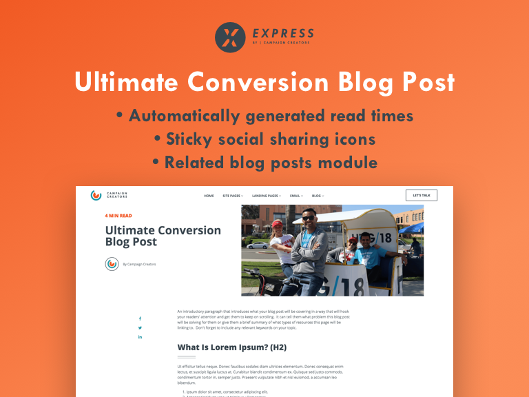 Ultimate Conversion Blog Post Cover